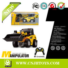 New Products 6Channel Remote Control Rc Bulldozers Truck Toys For Kids