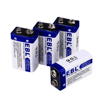 No-rechargeable 1200mAh Dry Batteries 9V lithium ion battery