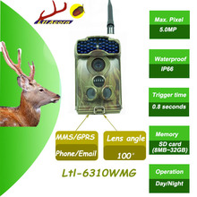12MP image and HD 720p wireless video 3G GSM MMS GPRS acorn 6310 hunting trail camera