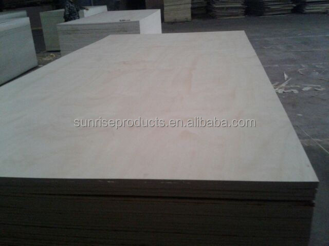 WBP Waterproof Glue Radiate pine construction shutter plywood