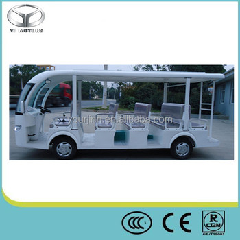 CE Certificate 14 seats new electric sightseeing bus