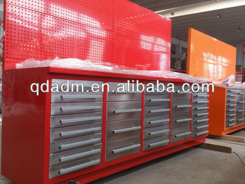 Stable metal garage workbench with 30 drawers buy metal workbench with draw - Amenagement garage ikea ...