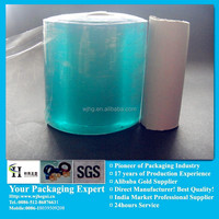 pvc soft clear tube blue films for packing manufacturer