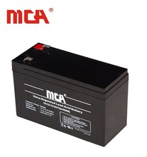 High quality lead acid rechargeable UPS battery 12V 7Ah
