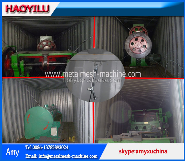 roll rype Expanded Metal machine