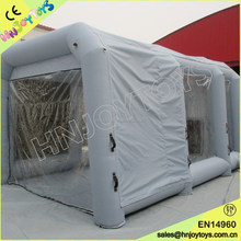 Portable paint booth with water curtain, thermal car paint booth, car painting booth