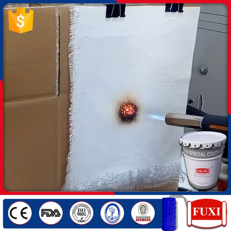 Fire Resistance Metal Intumescent Fireproofing Paint For Steel