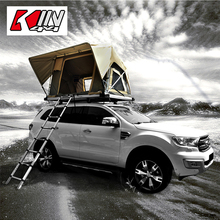 Kin4x4 Top Sale Aluminium Car Roof Folding Tent with Ladder and Other Parts for Camping