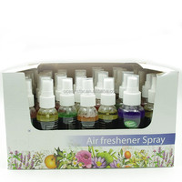 60ml portable lavender scent liquid type Air Freshener Spray