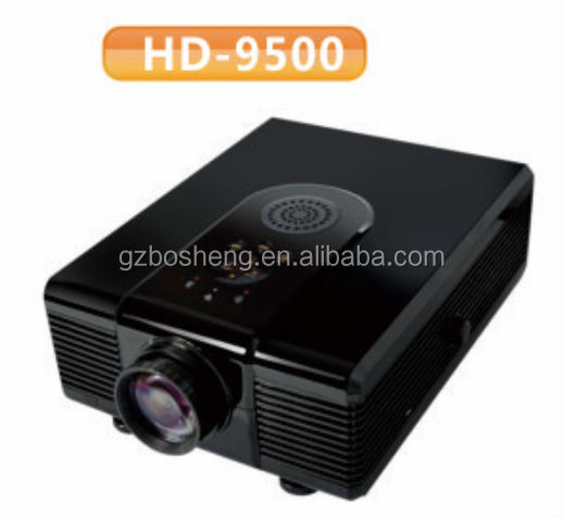 2014 Top sales new product full HD 1920 X 1080p 2400 lumens led pico projector/led 3d projector ,HD-9500