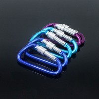 high quality china whole sale D ring carabiner hook