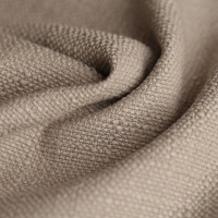 Cheap wholesale 100% polyester linen look fabric