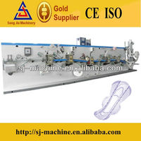CE Certification PLC Control Automatic Sanitary Pads Making Machine