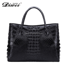 Classic luxury Woman and Lady genuine crocodile leather Handbag