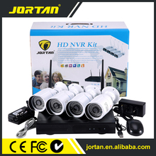 New 4 channel hd nvr kit 1080p wireless cctv system