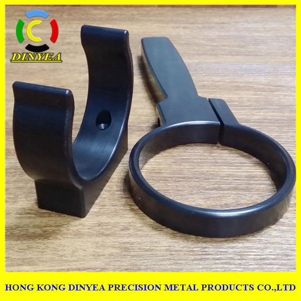 CNC turning machined hardware part / PTFE PP PEEK PET-P HDPEart