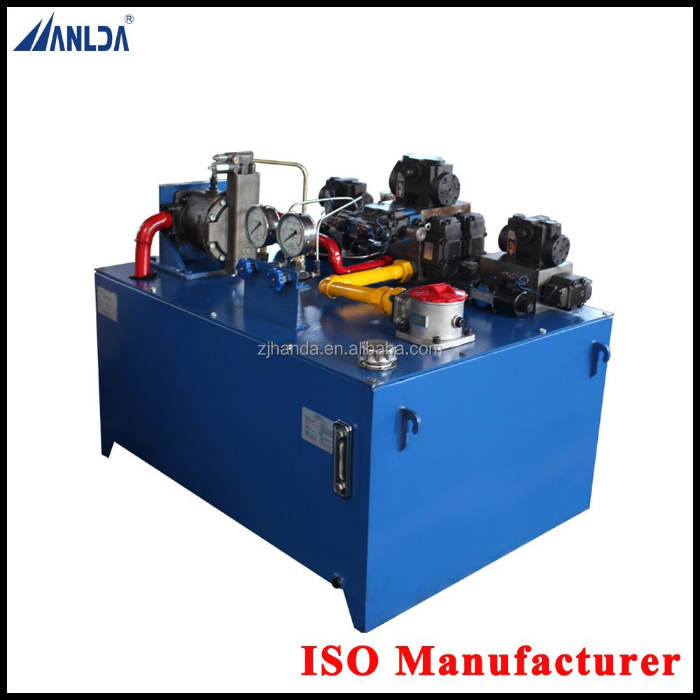 china garbage compactor parts hydraulic oil type power pack