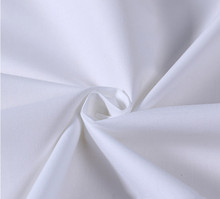 40*40 110*90 200TC plain white <strong>120</strong>&quot; extra wide cotton bed sheet fabric for bedding