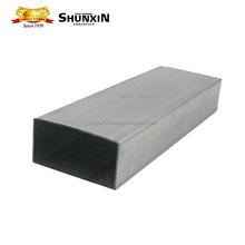MS Galvanized Steel Hollow Section / Pipe for Construction Materials