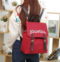 hobo bags Korean and Japanese style backpack college bags for unisex 5 colors avaliable school bag 2016 newly trendy