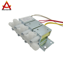 DC 24V 12v miniature high pressure electric 3 way plastic low price solenoid valve