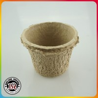 Disposable Paper Pulp Seedling Flower pot