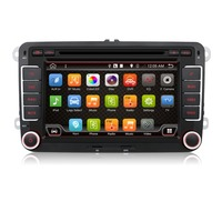 "2 din 7"" inch car dvd player android 6.0 with cd player for Volkswagen"