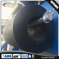 China manufacture marine cylindrical rubber fender