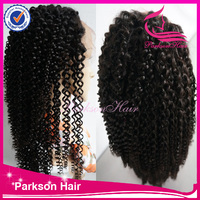 8-30inch density 150 cheap 100%human hair braid & bead curly freestyle full lace remy hair wigs