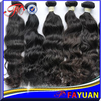 Fayuan wholesale 6a grade unprocessed 100% human virgin peruvian virgin hair