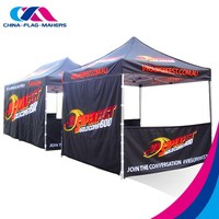 2016 advertise luxury pop up custom tent