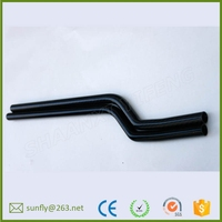 custom 3k roll wrapped carbon fiber tube/ large diameter 50mm carbon fibre tube/ china fiber carbon tube supplier