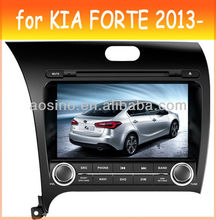 car dvd player for KIA FORTE 2013- car radio car audio with gps navigation