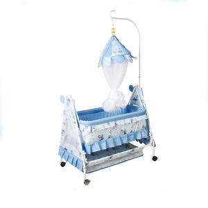 Baby bed 877 with swing cradle