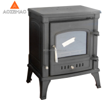 Modern cast iron door wood burning stoves
