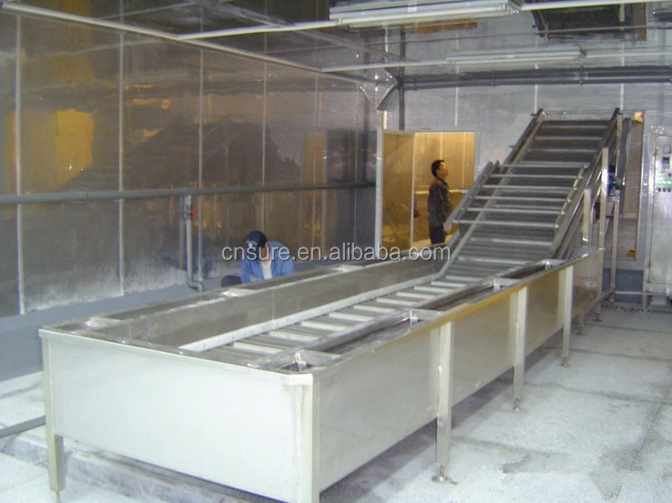 Customized IQF Frozen Vegetable Okra /Carrot/ Green Bean/Cabbage Pre-processing Production Line/Equipment/Blanching Machines