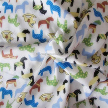 100% Cotton Cartoon Printed Fabric for Kids` Bedding
