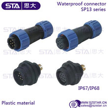 outdoor cable 6 pin 7pin 9pin 5 pin 4 pin circular waterproof connector