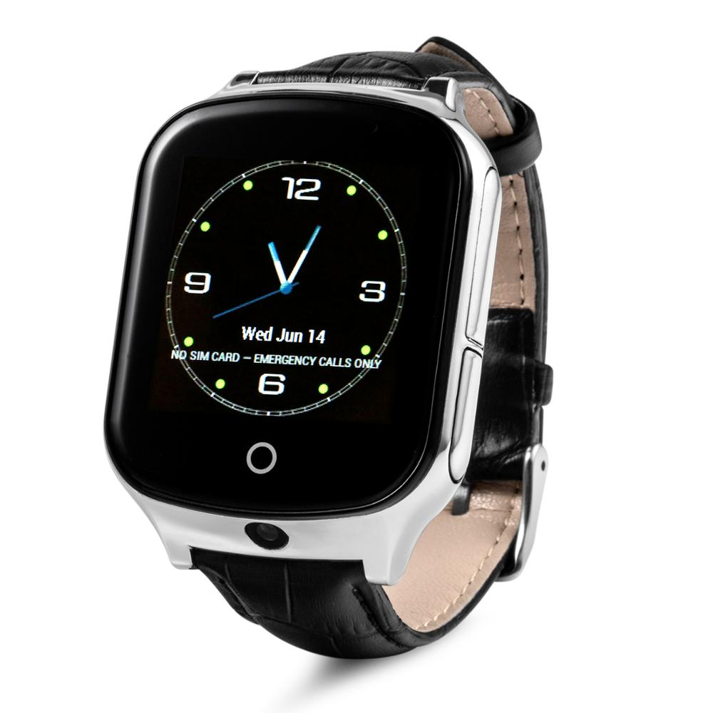 Fall down reminder 3G net work wcdma gps tracker watch phone for kids/old people with camera