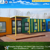 New prefabricated sea container 20ft /40ft overseas prefabricated mobile shipping container office