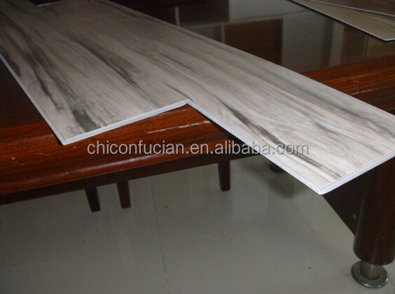 9 inch by 48 inches waterproof CE certificate unilin click system vinyl planks flooring