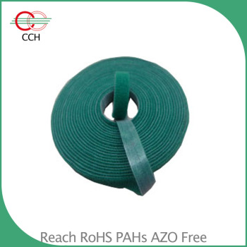 width 10mm soft back to back hook and loop plant tie