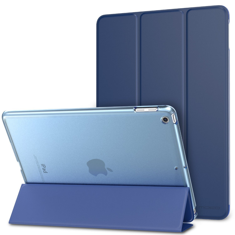 For iPad 9.7 New Case Cover 2017 Released China Shenzhen Factory Wholesale Flip PU Leather Case