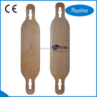 Factory price 100% wooden skateboard deck canadian/chinese maple skateboard