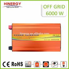 High Quality Off Grid Auto Intelligent Dc/ac Power Inverter 6000 W