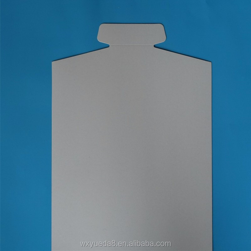 CB-018 shirt cardboard best grade cardboard back board for clothing / card board insert / Garment cardboard shirt accessories