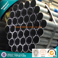 gas pre-galvanized steel pipe zinc coating steel tube for fence post
