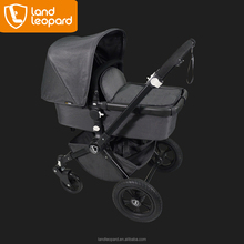 The lovely & large sleeping space carrycot with wooden board inside to the baby pushchairs for baby to turn over freely