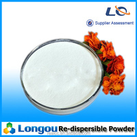 Re-dispersible polymer powder for tile adhesive and gypsum