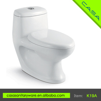 2016 china suppllier white one-piece washdown eastern toilet